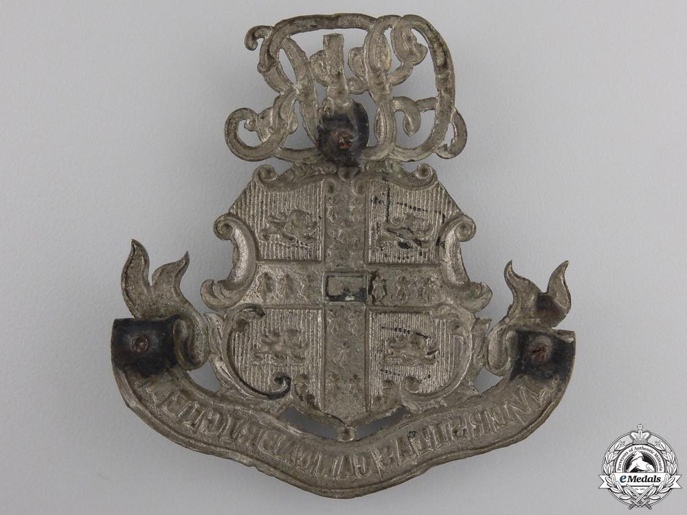A First War Cambridge University Cap Badge
