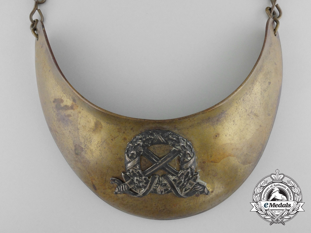 An Unknown Military Gorget