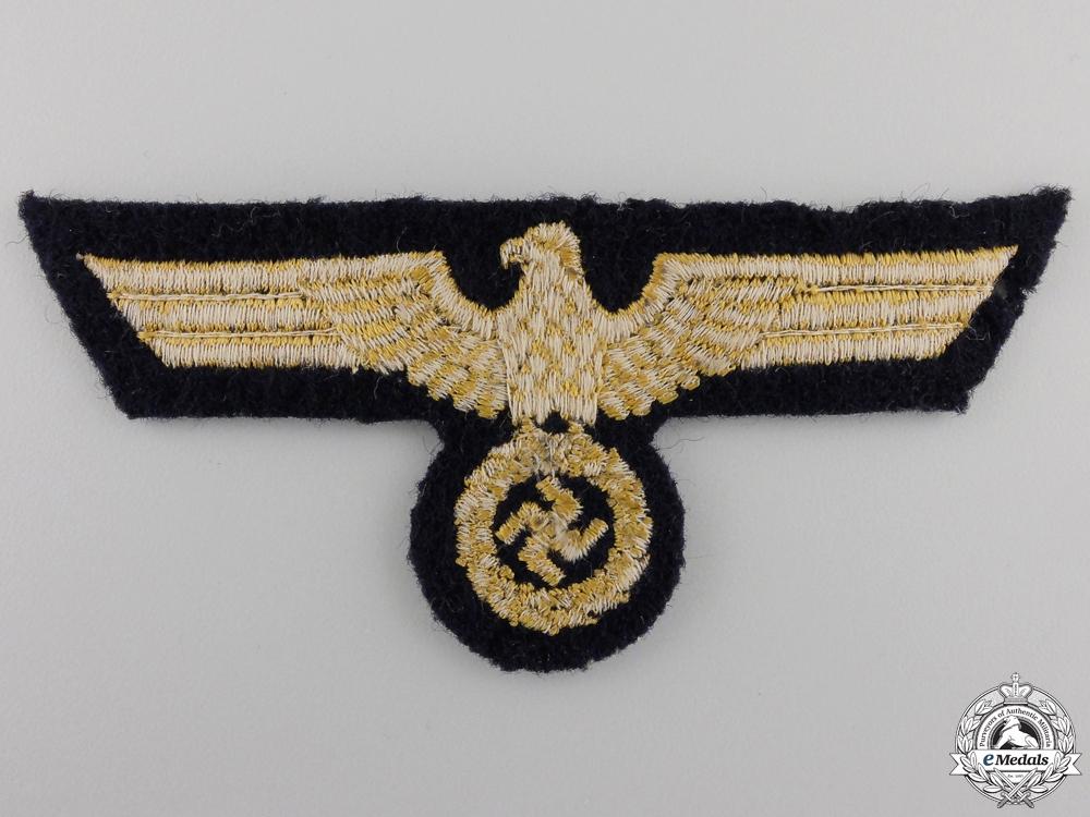 A Kriegsmarine Officer's Breast Eagle