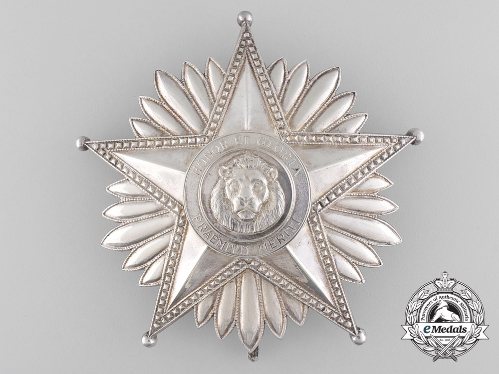 A National Merit Order of Paraguay; Grand Cross Set