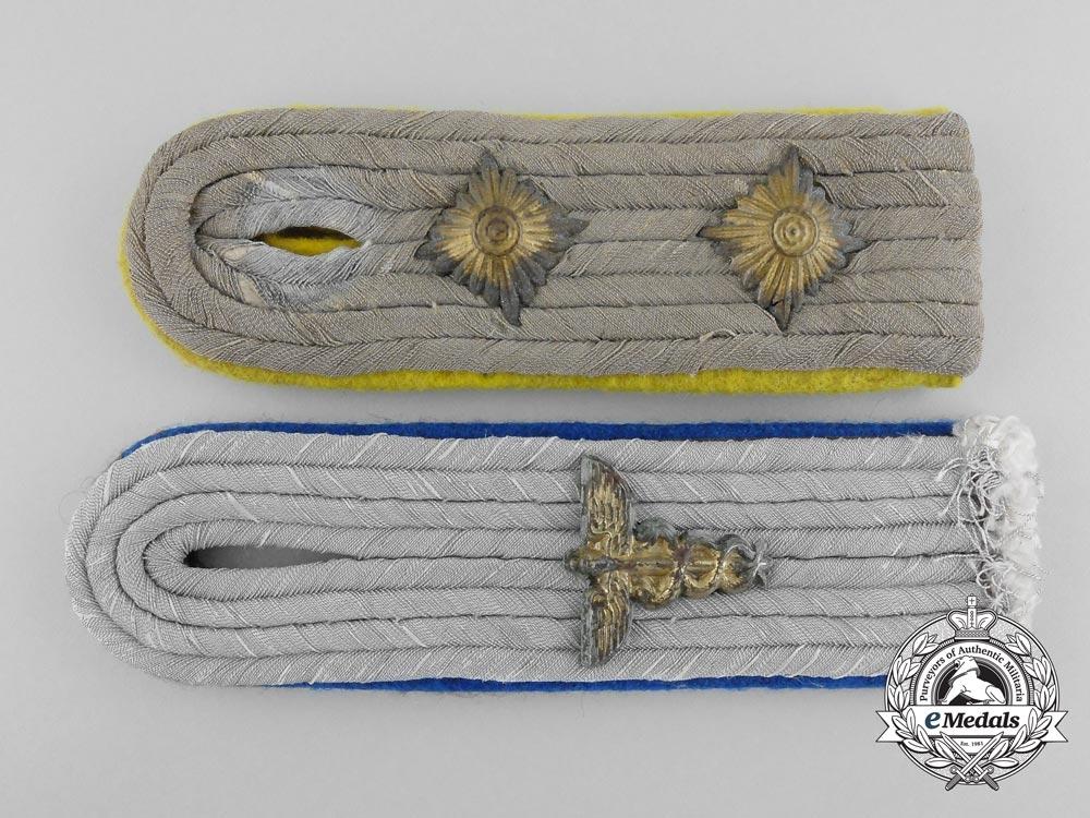Two Army (Heer) Shoulder Boards