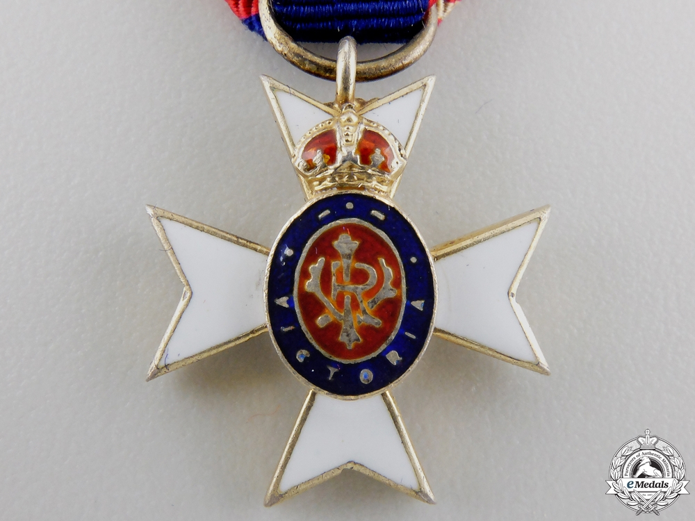 A Miniature Royal Victorian Order