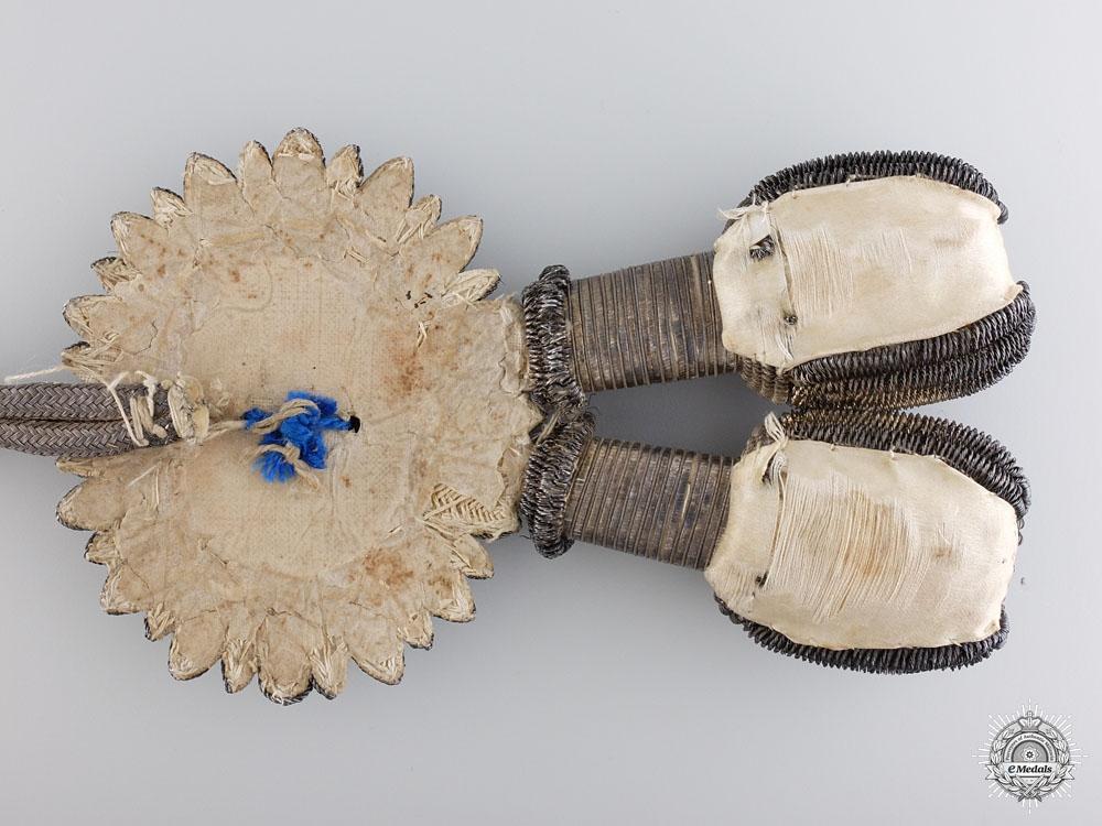 A Brunswick Silver Bullion Duel Sword Portepee c.1850