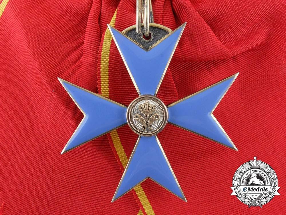 Brunswick, Duchy. An Order of Henry the Lion, I Class Cross, c.1910