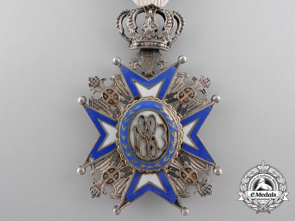 A First War Serbian Order of St. Sava; 5th Class