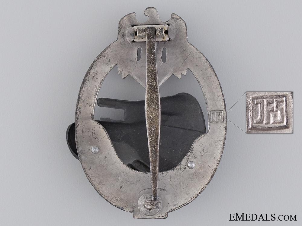 Tank Badge Grade II; Silver Grade by JFS