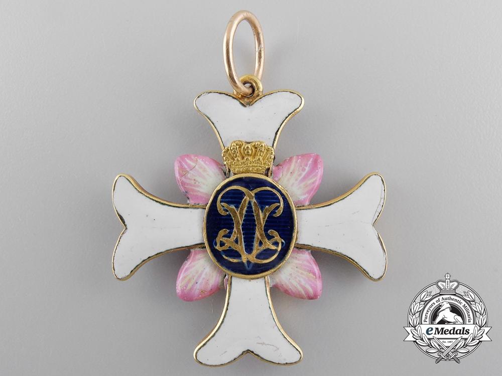 A Rare Swedish Order of Vadstena Adliga; Ladies cross