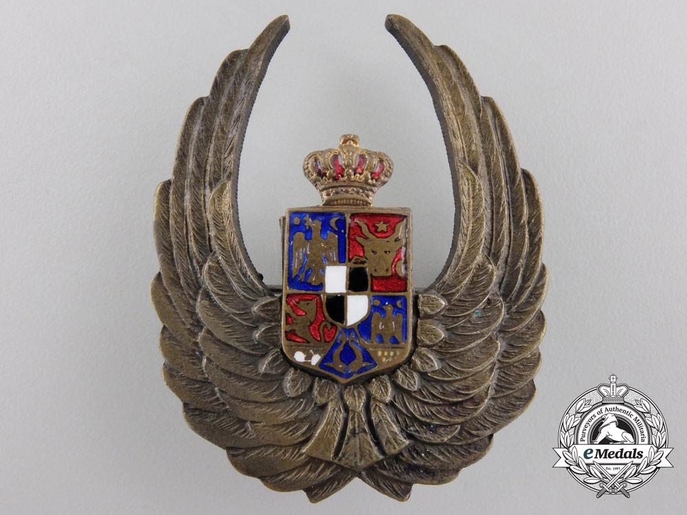 A Second War Romanian Observers badge