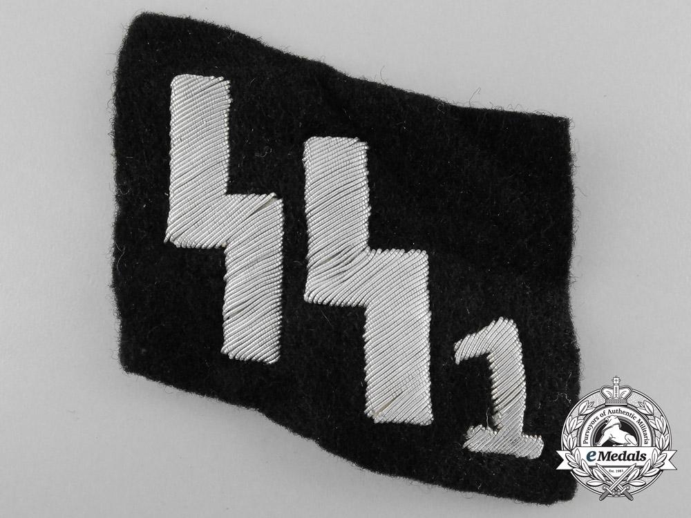An SS1 Officer's Collar Tab