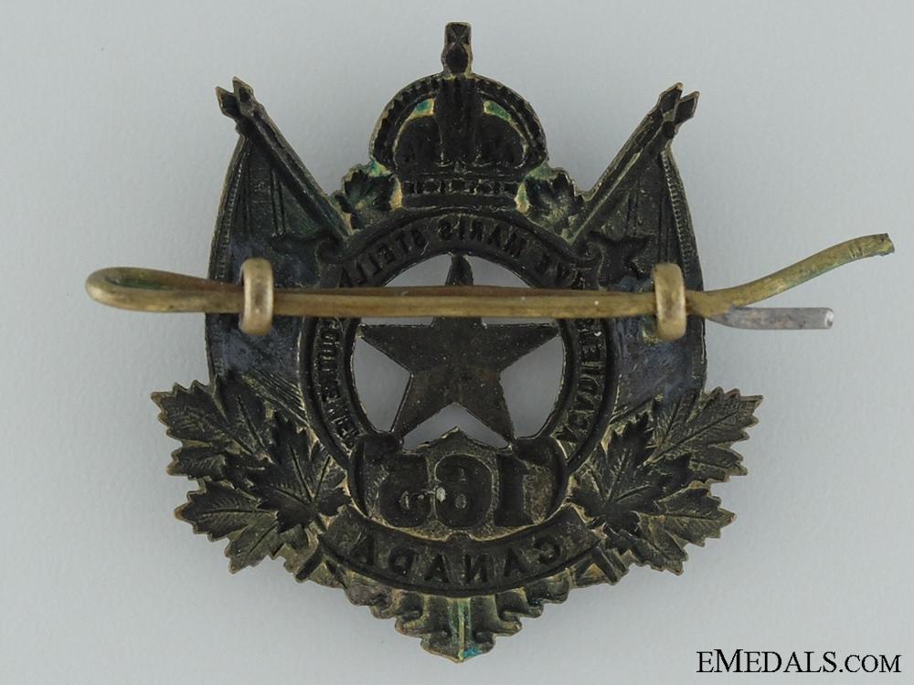 165th Battalion (Moncton N.B., Acadians) Cap Badge CEF