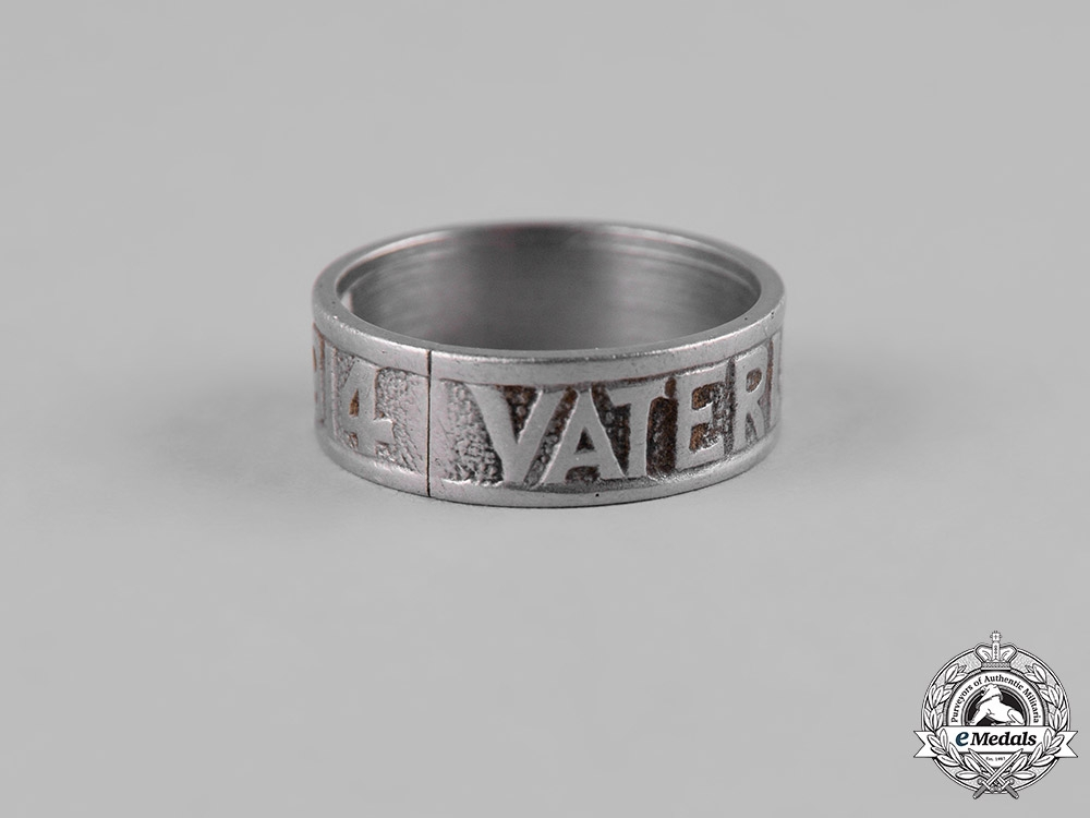 Germany, Imperial. A Pair of First War Commemorative Rings