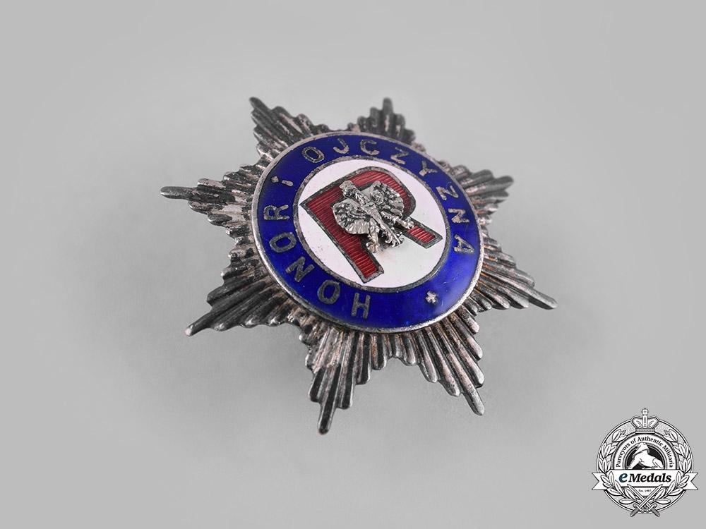 Poland, Republic. An Association of Reservists Badge