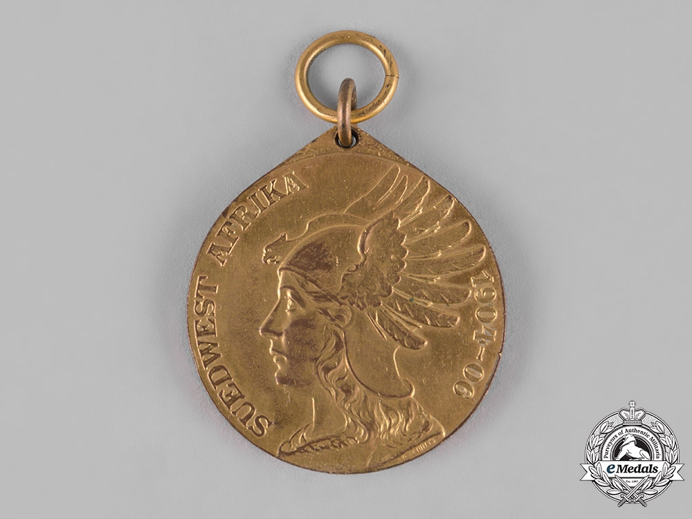 Germany, Imperial. A German Southwest Africa Commemorative Medal, by D. Schultz