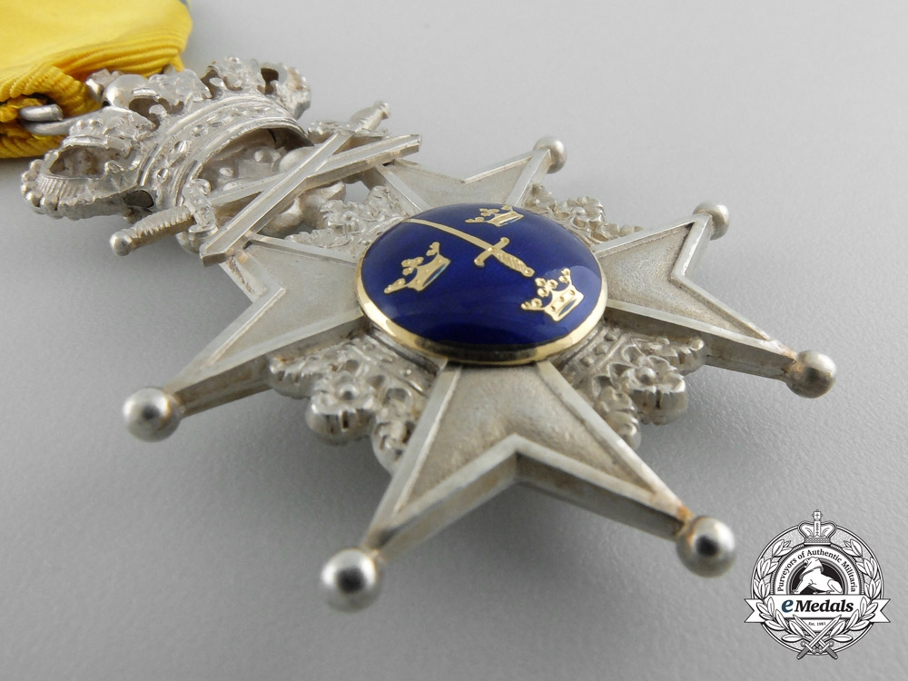 Sweden, Kingdom. A Order of the Sword, Knight