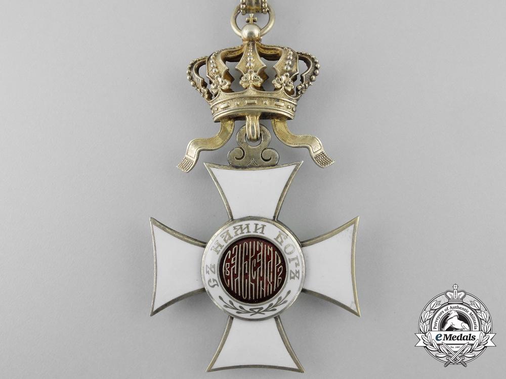 Bulgaria, Kingdom. An Order of St. Alexander, Commander, by Rothe, Wien, c.1900