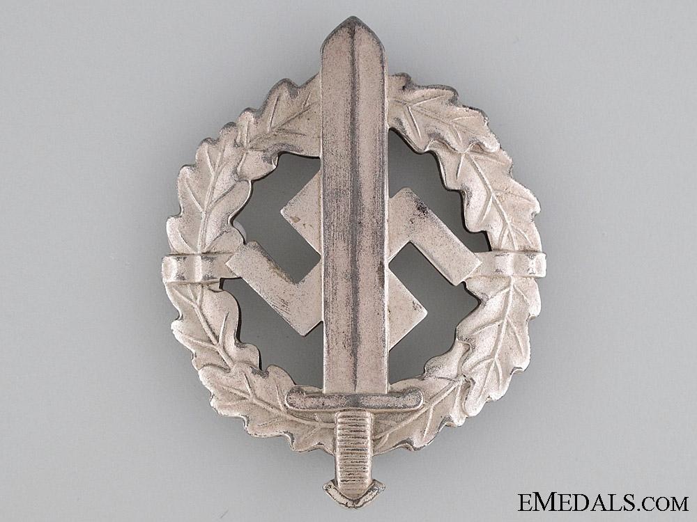 SA Sports Badge, Silver Grade, Type II