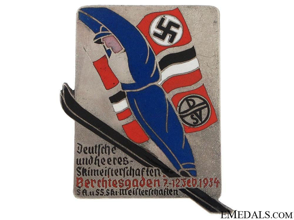 SA/SS Ski Competition Badge