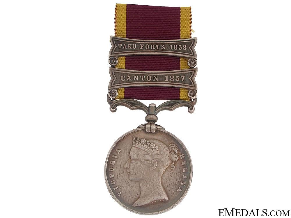 Second China War Medal 1857-60