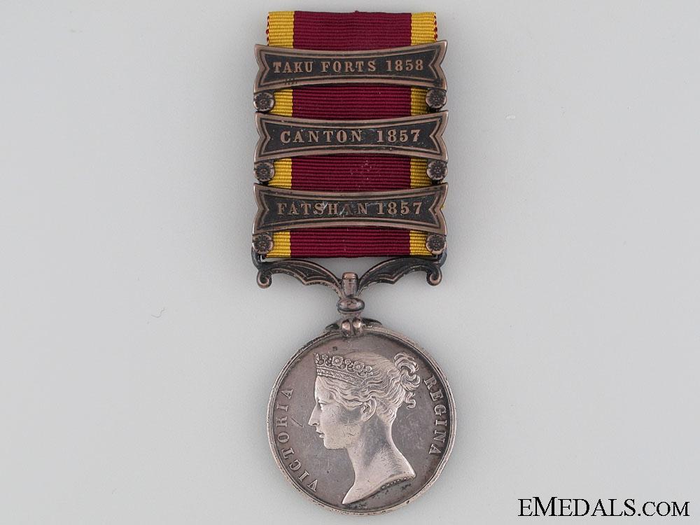 Second China War Medal 1857-1860