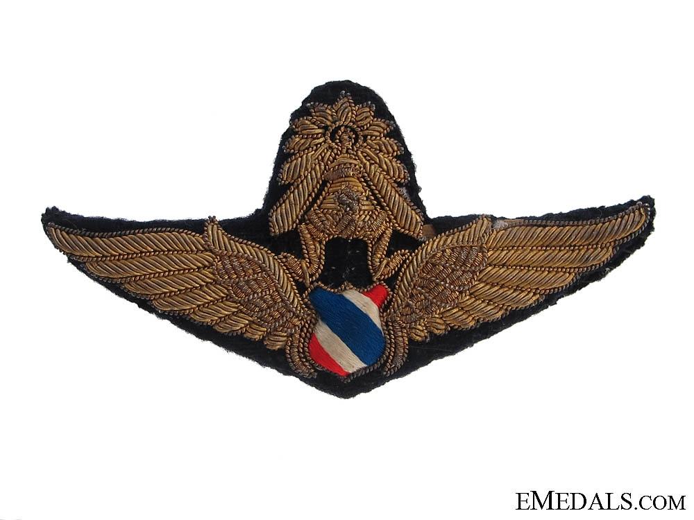 Second War Period Thai Pilot Wings