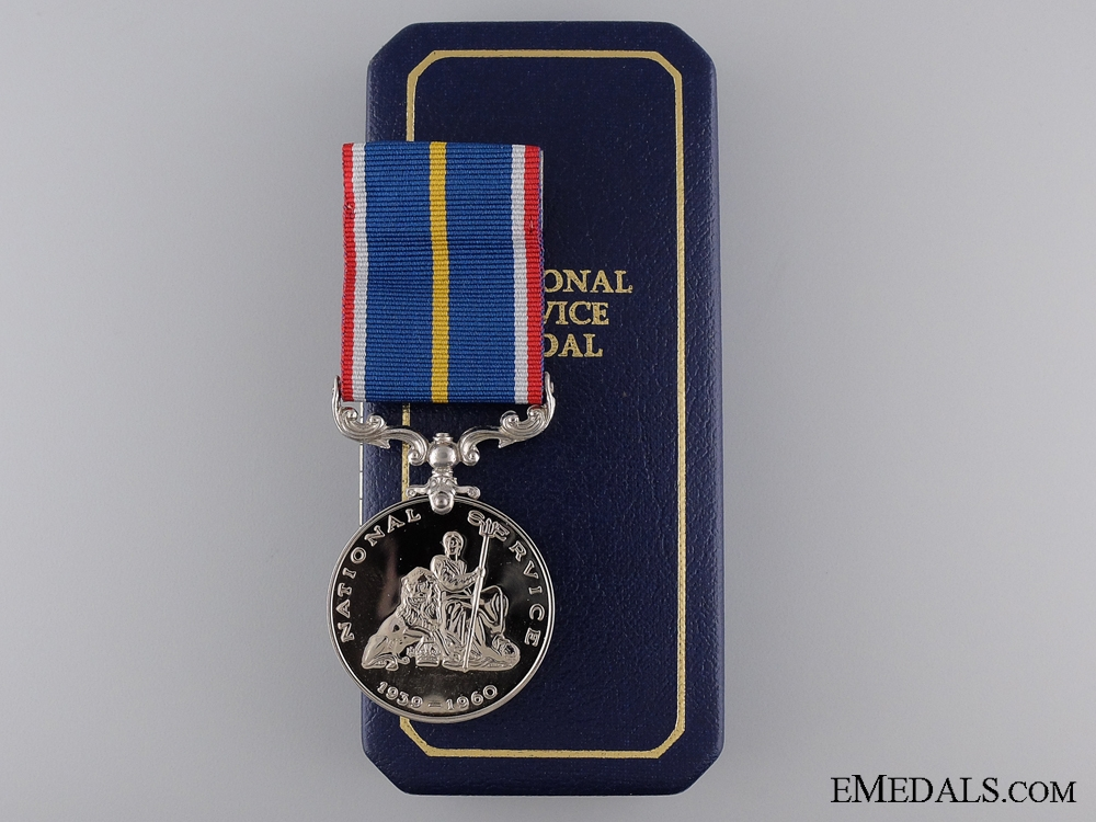 Second War WWII National Service Medal 1939-1960