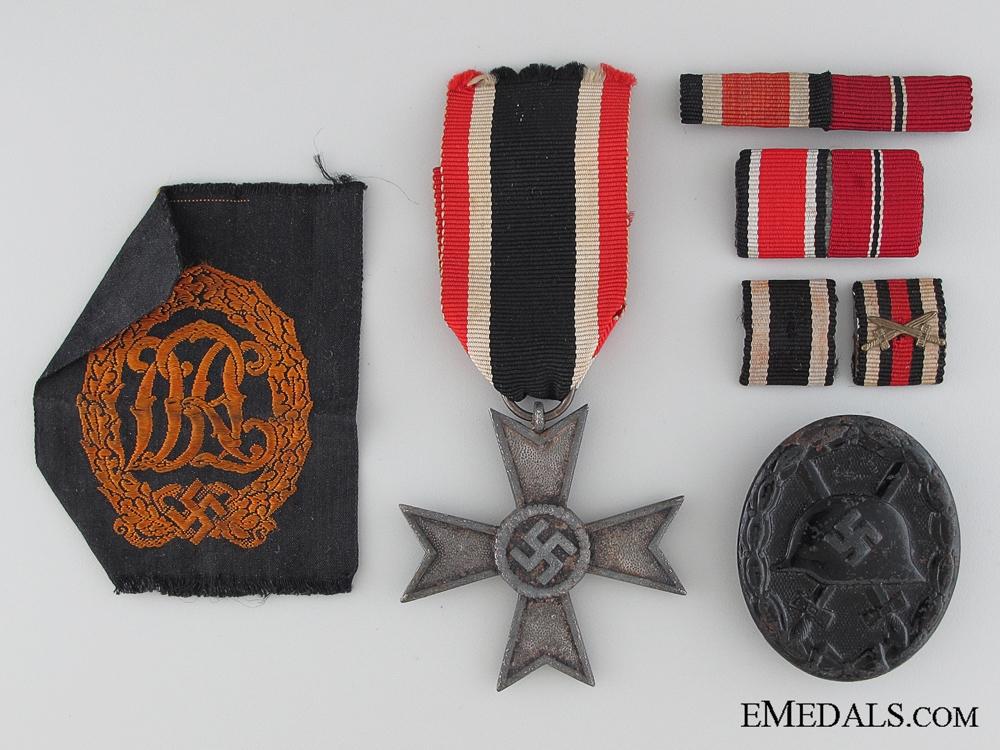 Seven German Badges & Awards Items