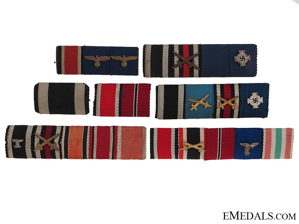 Seven Ribbon Bars