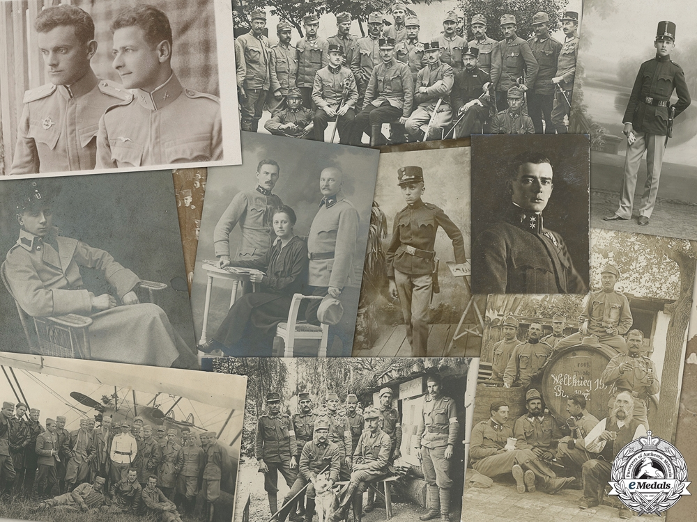 Seventeen First War Austrian Military Photographs
