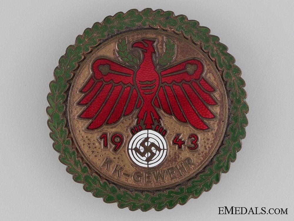 Shooting Award 1943
