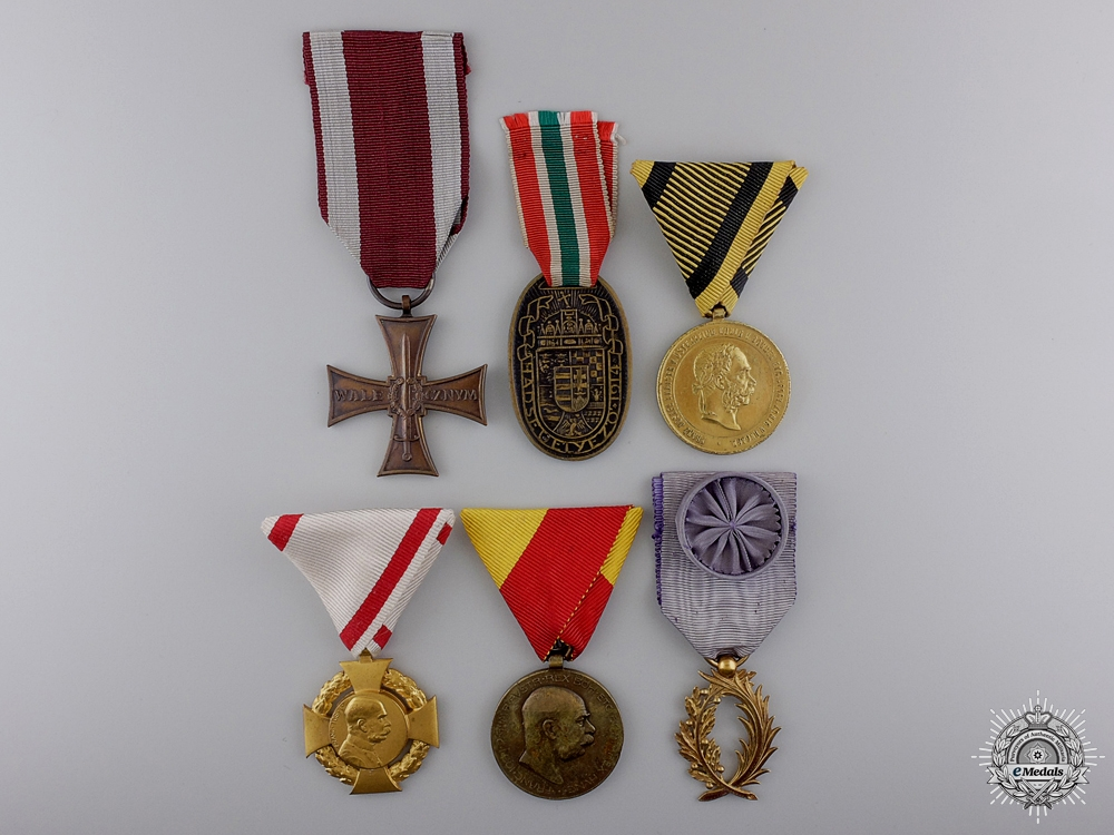 Six European Medals and Awards