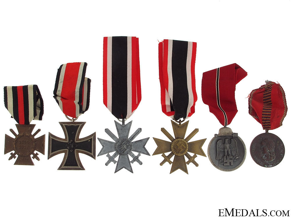 Six German Medals