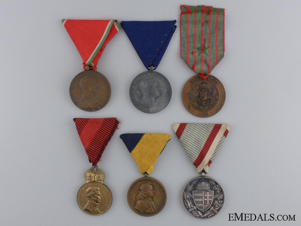Six Hungarian Medals
