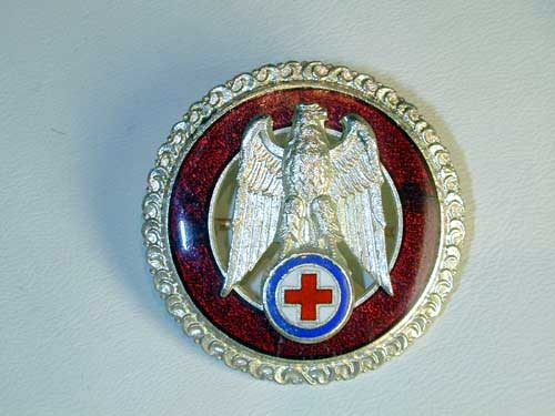 RED CROSS BADGE WW II