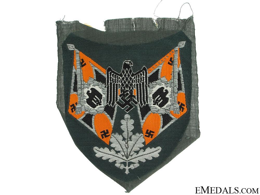 Sleeve Insignia for Flag Bearer – Cavalry