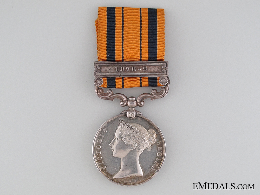 South Africa Medal 1878/9 to the 80th Regiment of Foot