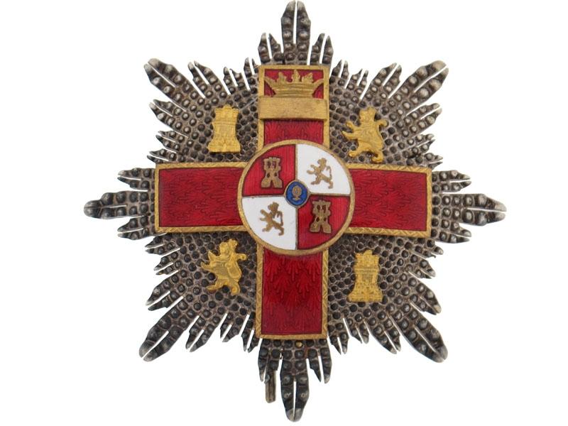 Cross of Military Merit, 2nd Class, 1936-1940
