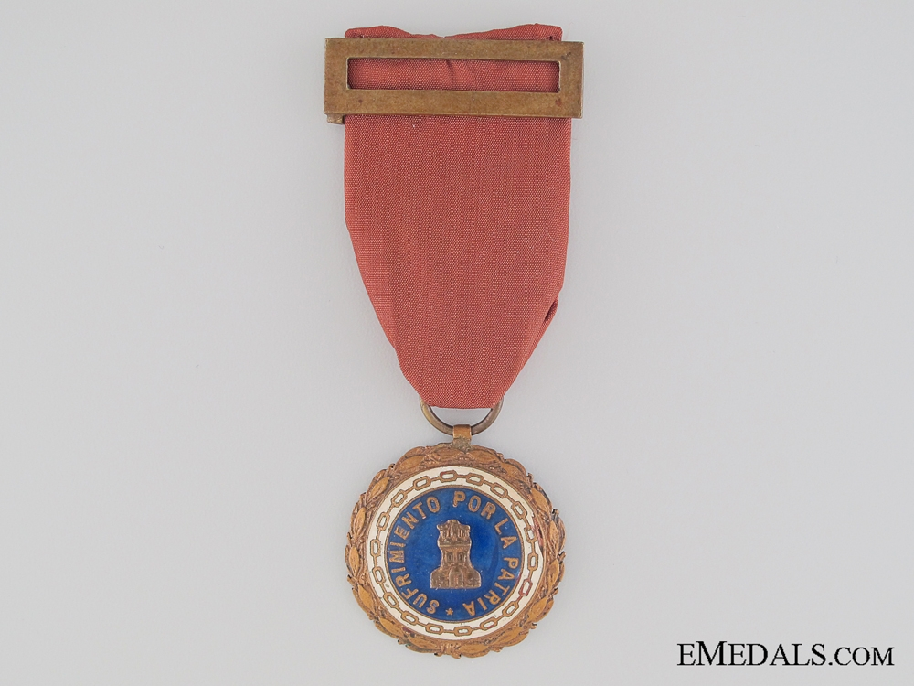 Spanish Civil War Medal of the Suffering