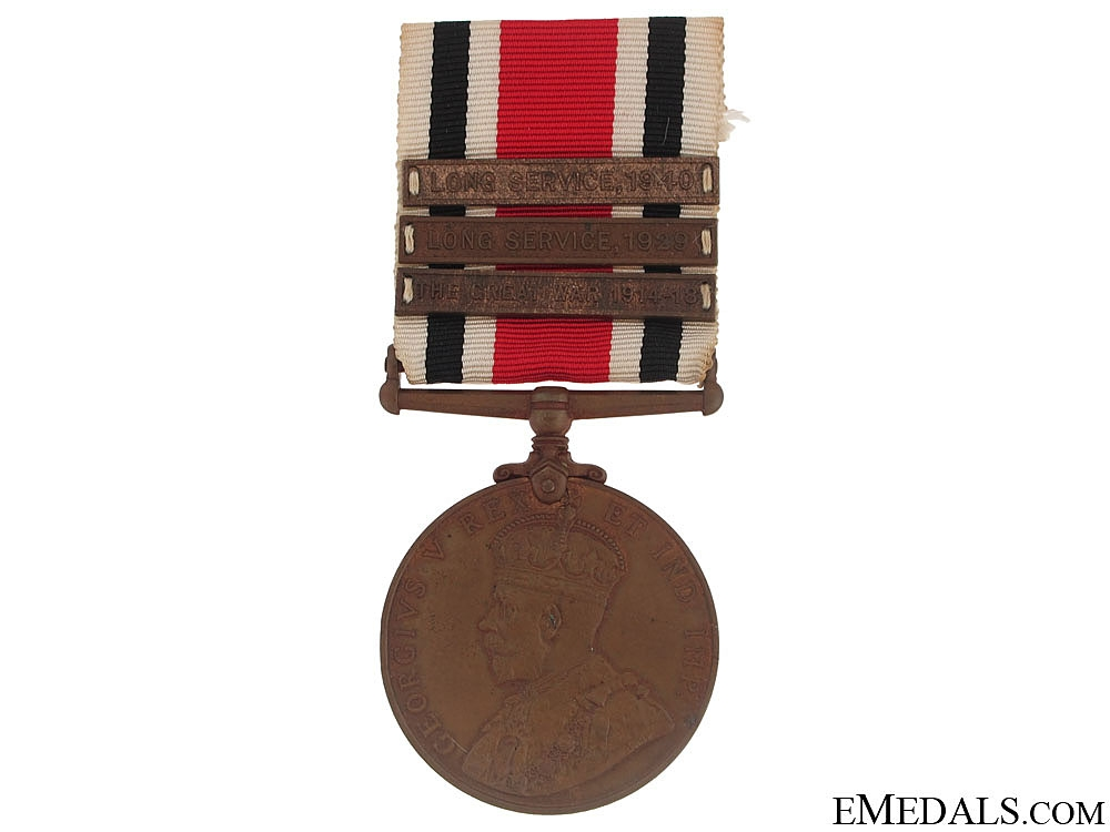 Special Constabulary Long Service Medal - 3 Bars
