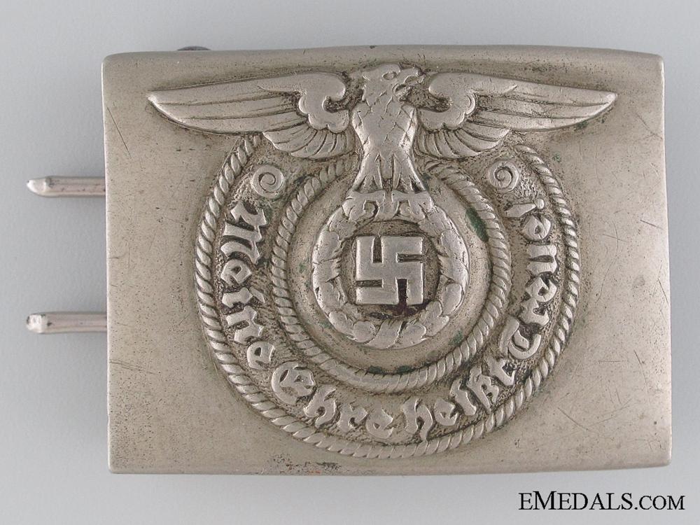 SS EM Belt Buckle by O & C ges. gesch.