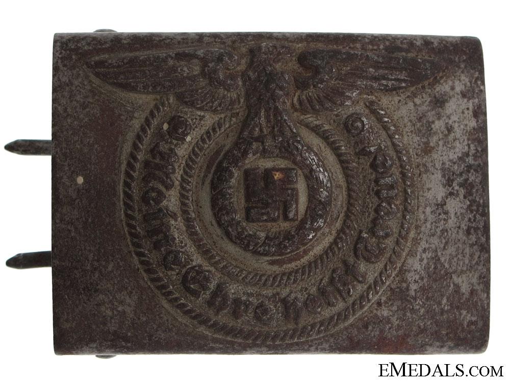 SS EM/NCO's Steel Belt Buckle