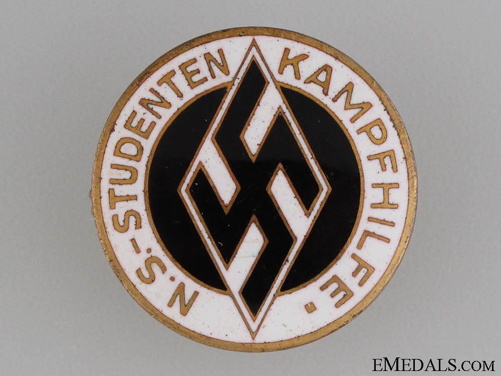 "Students Federation ""Kampfhilfe"" Aid Badge"