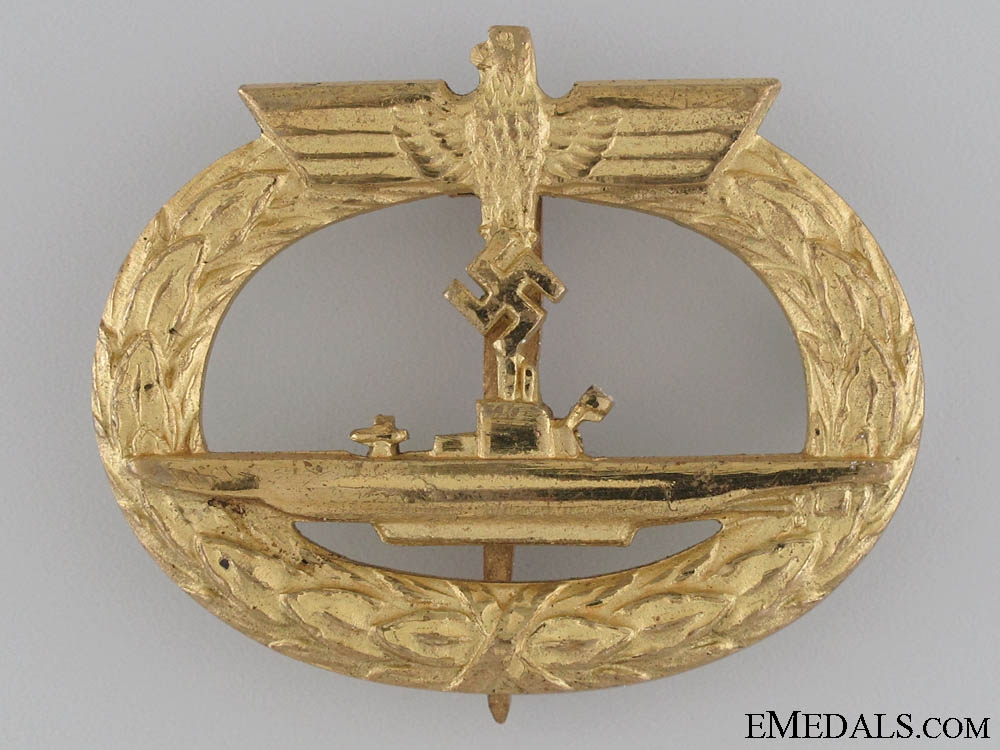 Submarine War Badge by Schwerin