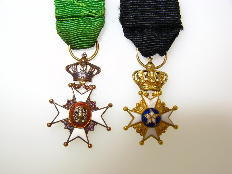 Two Miniature Awards