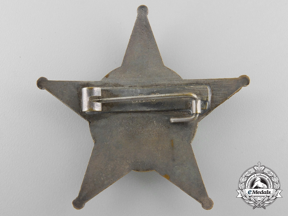 A 1915 Campaign Star (Iron Crescent) by B.B. & Co