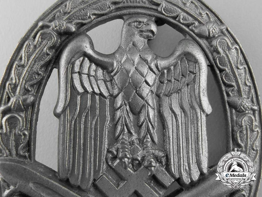 A General Assault Badge By Ferdinand Wiedmann