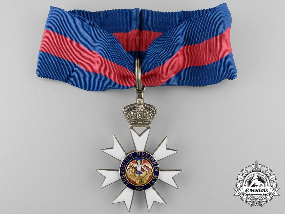 A Most Distinguished Order of St. Michael and St. George; Knights Commander