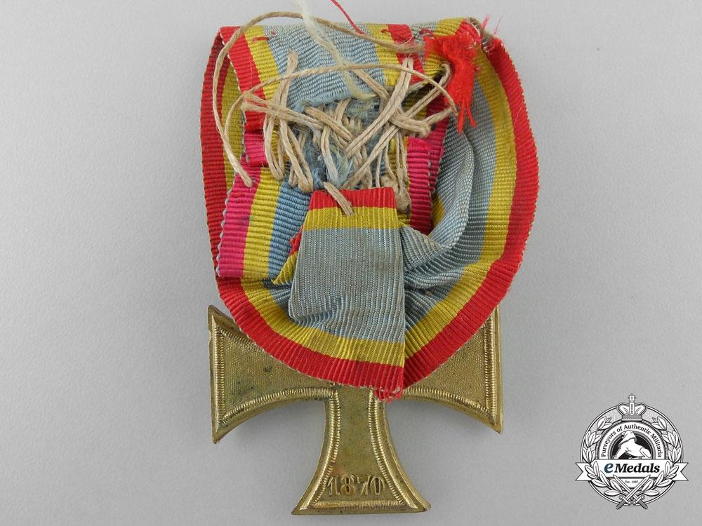 An 1870 Mecklenburg War Merit Cross
