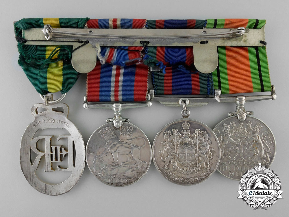 A Second War Canadian Group to Major G.M. Griffin