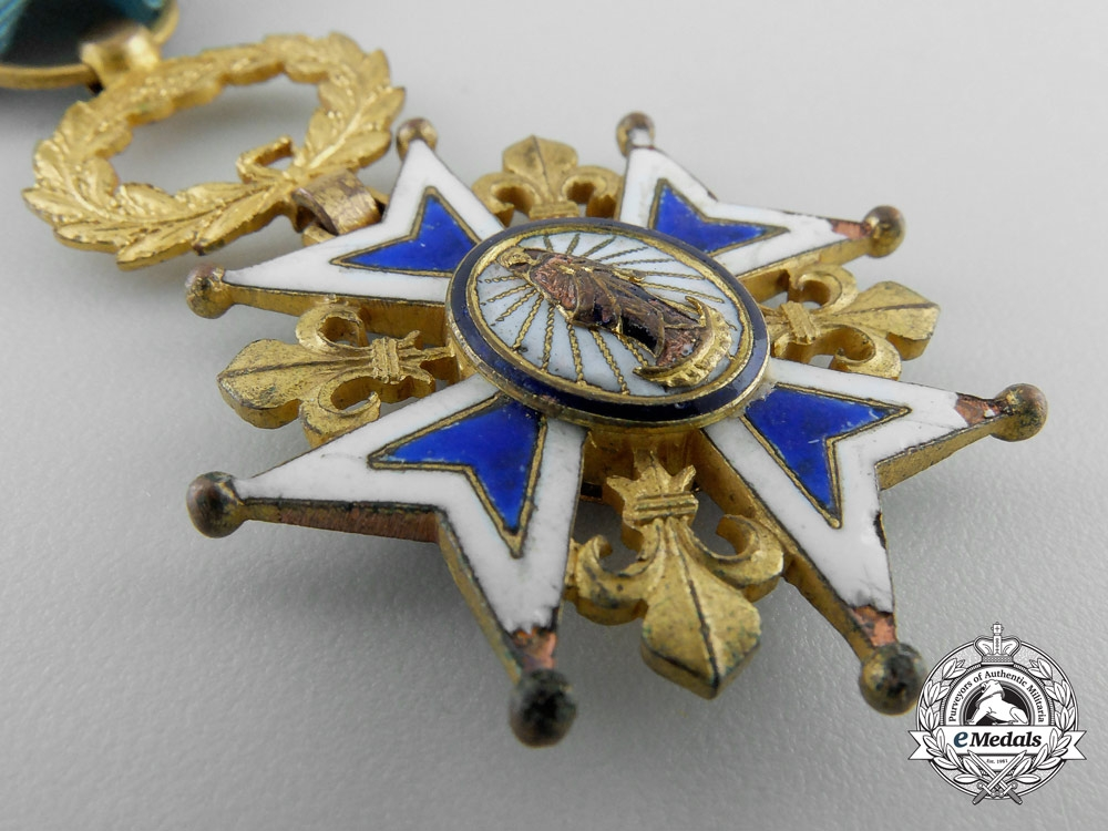 A Spanish Order of Charles III; Knight's Cross