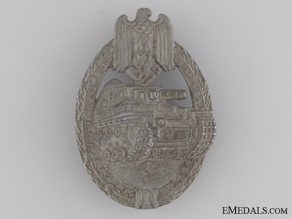 Tank Assault Badge by Friedrich Orth, Wien